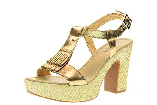 NERO GIARDINI scarpe donna sandali P717651D/434 Bronzo