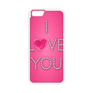 iPhone 6 Plus 5.5 Inch Case Image Of Love Pink YGRDZ22007 Phone Cases For Men Unique