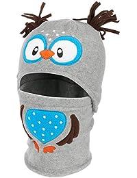 d29e4cdd205d Chapeaushop Bonnet + Echarpe en Polaire pour Enfant Birdy Echarpe
