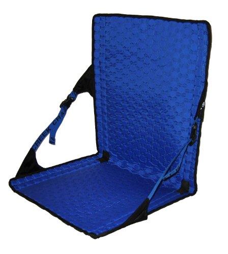 Crazy Creek Produkte HEX 2.0 lange rückseitige Chair (Schwarz / Royal)
