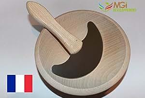 Hachoir manuel en bois du jura