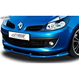 RDX Front Spoiler VARIO-X Clio 3 Phase 1 not RS Front Lip Splitter