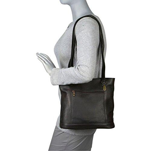 david-king-co-shopper-con-zip-tasca-frontale-1065-cafe-marrone-1065c