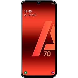 Samsung Galaxy A70 - Smartphone 4G (6,7'' - 128GO - 6 GO RAM) - Noir - Version Française