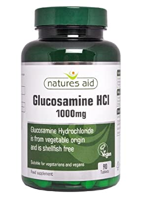Natures Aid 1000mg Glucosamine HCI Tablets - Pack of 90 Tablets from NAVX2