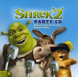Shrek 2 Party CD by Shrek, Fiona, Three Blind Mice, Donkey, Captain Hook, Prince Charming, Puss In B [Music CD] (Shrek Prince Charming)