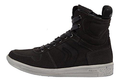 Geox J3490C Sneaker Leder Grey