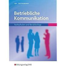 Betriebliche Kommunikation: Fachschulen und Berufskollegs: Schülerband