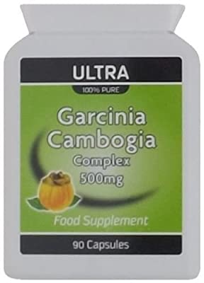 Ultra Garcinia Cambogia High Strength Diet & Slimming Pills - Fast Fat Burner with Essential Potassium & Calcium for Rapid Absorption No Fillers & Suitable for Vegetarians - 90 Capsules - One Month Supply by Redrose