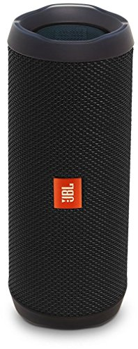 JBL Flip 4 Portable Wireless Speaker with Powerful Bass & Mic (Black)