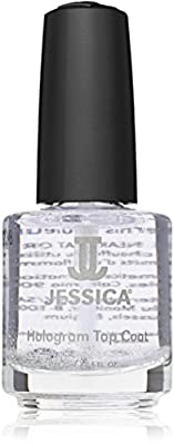JESSICA Silver Hologram Top Coat 14.8 ml