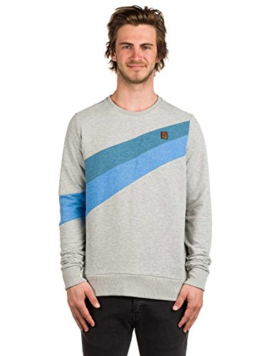 Verdammte Order 66 Sweatshirt grey-light grey/light blue melange