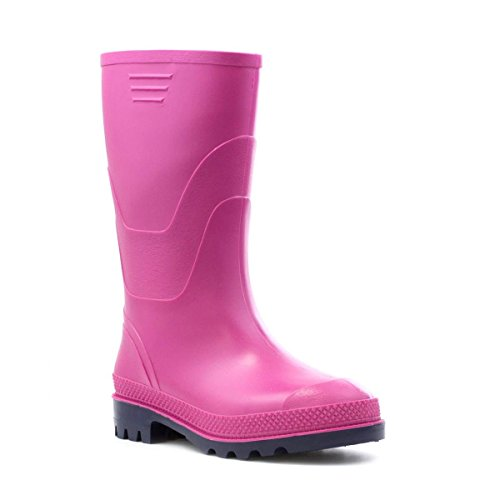 Zone - Classic Pink Welly - Kids Size 13 to Adult Size 8