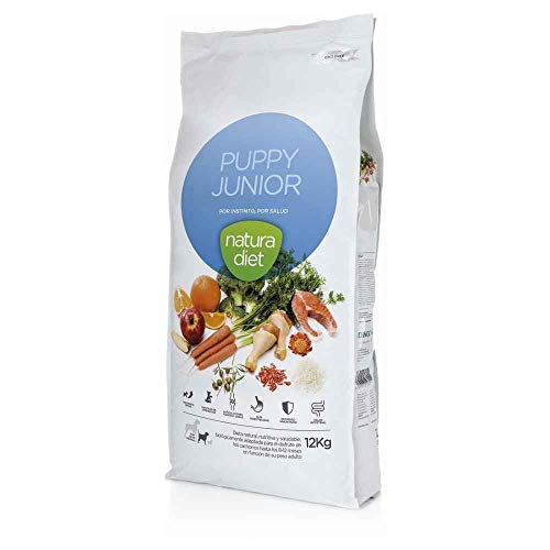 Natura diet Puppy junior 12 kg Alimento Natural seco