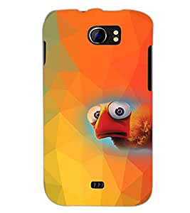 PrintDhaba Cartoon D-4541 Back Case Cover for MICROMAX A110 CANVAS 2 (Multi-Coloured)