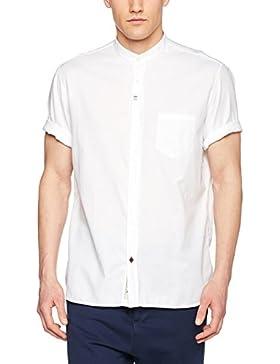 Signum Herren Freizeithemd Strukturhemd mit Dezentem Glanz