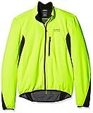 GORE WEAR Herren Element Windstopper Soft Shell Jacke, Neon Gelb/Schwarz, XL