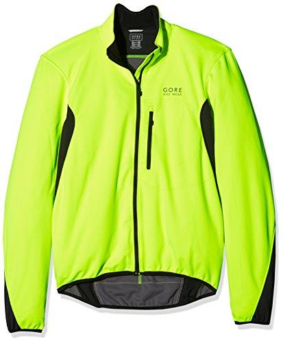 GORE WEAR Herren Element Windstopper Soft Shell Jacke, Neon Gelb/Schwarz, M