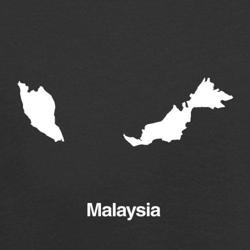Malaysia Silhouette - Herren T-Shirt - 13 Farben Schwarz