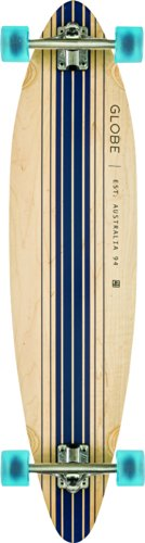 Globe Longboard Pinner Complete, Natural/Blue, 10525025-NATBLUE-41 -