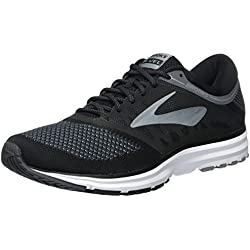 Brooks Revel, Scarpe da Running Uomo, Nero (Black/Anthracite/Primergrey), 42.5 EU