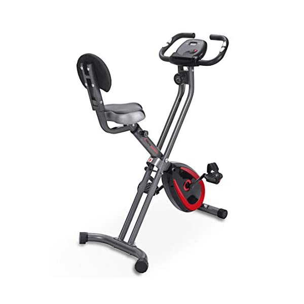 Ultrasport Unisex F-Bike Advanced Exercise Bike, Display LCD, Home Trainer Pieghevole, Livelli di Resistenza Regolabili… 6 spesavip