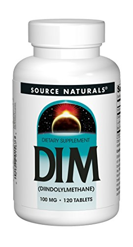 Source Naturals Shop (Source Naturals, DIM (Diindolylmethan), 100mg, 120 Vegane Tabletten)