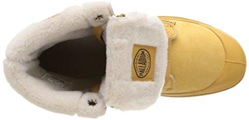 Palladium Baggy Ls F, Boots femme Jaune (846 Amber Gold)
