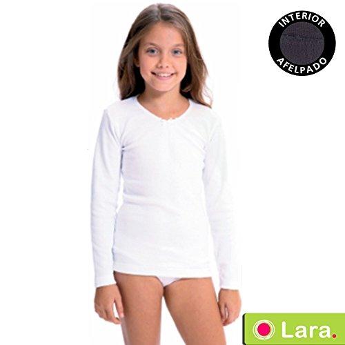 Lara - Camiseta NIÑA Termal Manga Larga niñas Color: