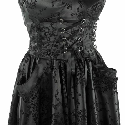 Hell Bunny Kleid MATILDA LONG DRESS black Black