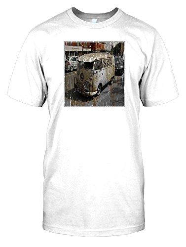 Camper-Van-Volkswagen-Mens-T-Shirt-Campervans