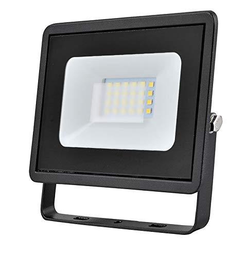 20w LED Flutlicht/Floodlight/Scheinwerfer 4000k - Schwarz (Eveready s13945) -