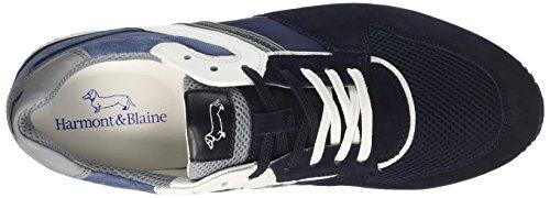 Blaine Harmont Scuro blu Sneaker Homme Cestini Blu 8qwdSqT