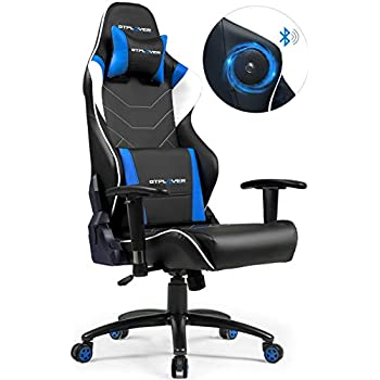 Gtplayer Music Gaming Chair With Bluetooth Speakers