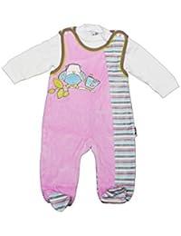 Schlafanzug Strampler Overall Mickey Nicki Nikki 62 68 74 80 86 92 NEU Baby