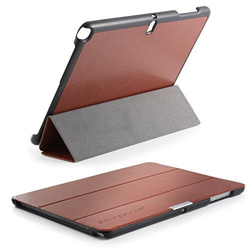 Für Galaxy NotePro 12.2 Tasche von safegoods® Etui BRAUN Case Cover Schutz Sleep & Wake up kompatibel Samsung Galaxy Note Pro 12.2 Tablet P900 P905