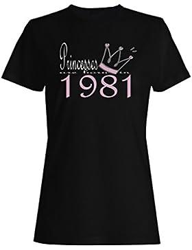 Las nuevas princesas del diseño del arte nacen en 1981 camiseta de las mujeres b541f