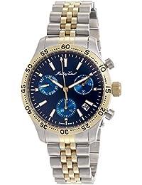 (Renewed) Mathey-Tissot Analog Blue Dial Mens Watch - H1822CHABU
