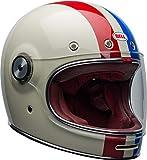Bell Helm Bullitt Dlx Command Vintage weiß/rot/blau Größe L
