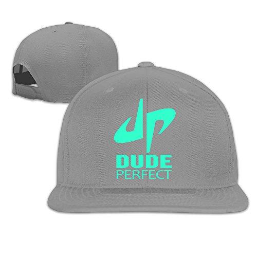 Lizd Dude Perfect DP Logo Flat Brim Baseball Hats