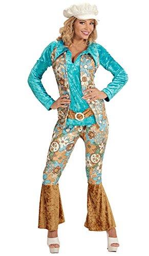 Widmann 4937H Erwachsenenkostüm Hippie, (Kostüm Frauen Ideen Für 80er)