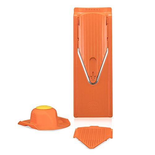 Chip-basis (Börner V3 Hobel Basis Set orange, Küchenhelfer Chips selber Machen, Slicer)
