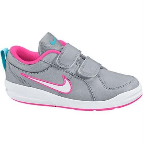 Nike Pico 4 (PSV), Scarpe da Tennis Bambina, Multicolore (Wolf Grey/White/Clearwater/Pink Pow 010), 30 EU