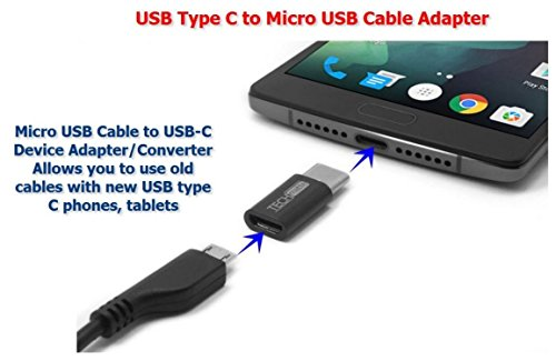 Voltac Type-C to Micro USB OTG Adapter for Smartphones and Other Type-C...