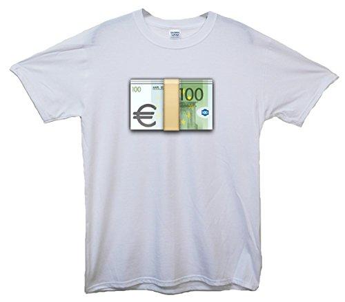 Euro's Emoji T-Shirt Weiß