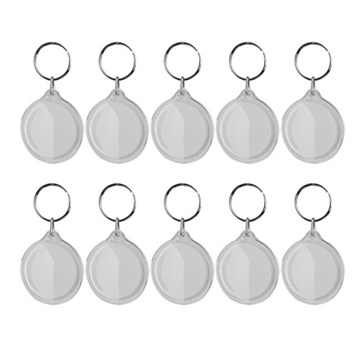 10pcs-llavero-de-anillo-marco-de-foto-redondo-movible-acrilico-metal-blanco-78x25cm