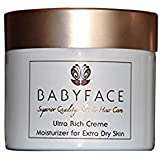 Babyface ULTRA RICH CREME Very Heavy Beauty Cream Moisturizer for Dry Skin - Shea Butter, Aloe, Salicylic