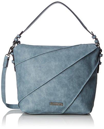 Print Hobo Bag Handtasche (Tamaris Damen Jutta Hobo Bag S Umhängetasche, Blau (Light Blue), 12x32x27 cm)