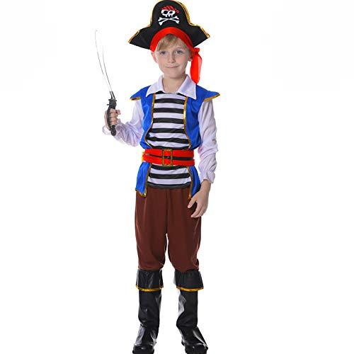 Pirate Boy Blue Boys Fancy Dress Costume Age ()