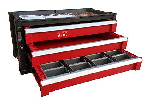Curver Werkzeugkasten, Plastik, rot, 56 x 30 cm